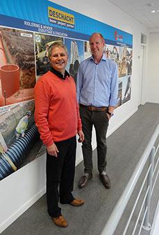 Jo Verfaellie et Raphaël Duvivier