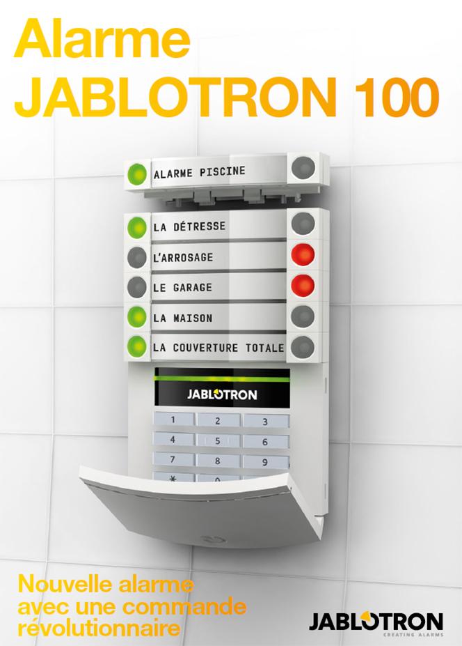 Alarme JABLOTRON 100