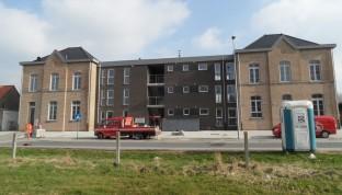Sociale woningen en appartementen te Zandbergen